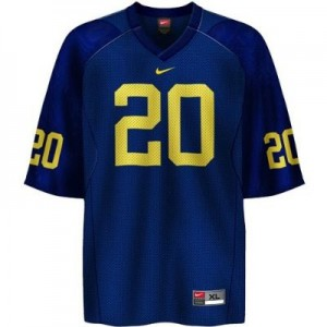 Mike Hart UMich Wolverines #20 Youth - Navy Blue Football Jersey