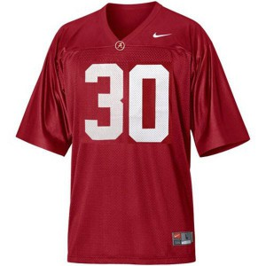 Alabama Crimson Tide Dont'a Hightower #30 Red Football Jersey
