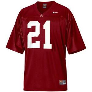 Alabama Crimson Tide Dre Kirkpatrick #21 Red Youth Football Jersey
