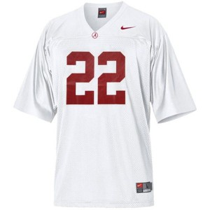 Alabama Crimson Tide Mark Ingram #22 White Youth Football Jersey