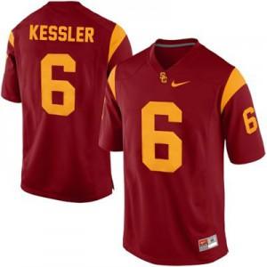 Cody Kessler USC Trojans #6 College - Red Football Jersey