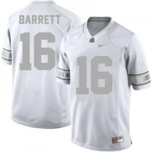 J.T. Barrett Ohio State Buckeyes #16 - Platinum Football Jersey