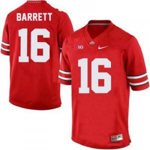 J.T. Barrett Ohio State Buckeyes #16 - Scarlet Football Jersey