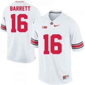 J.T. Barrett Ohio State Buckeyes #16 - White Football Jersey