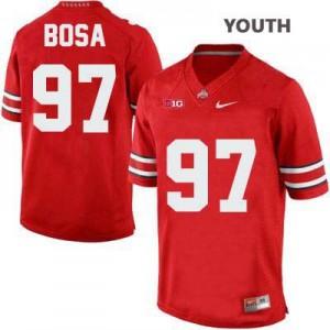 Joey Bosa Ohio State Buckeyes #97 - Scarlet - Youth Football Jersey