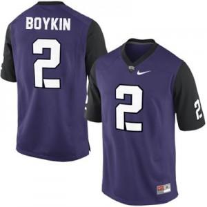 Trevone Boykin TCU Horned Frogs #2 College - Purple Football Jersey