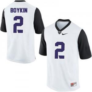 Trevone Boykin TCU Horned Frogs #2 College - White Football Jersey