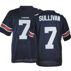 Pat Sullivan Auburn Tigers #7 - Navy Blue Football Jersey