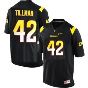 Pat Tillman Arizona State Sun Devils Sun Devils #42 Youth - Black Football Jersey