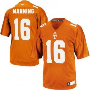 Peyton Manning Tennessee Volunteers #16 - Orange Football Jersey