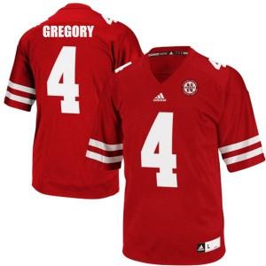 Randy Gregory Nebraska Cornhuskers #4 Youth - Red Football Jersey