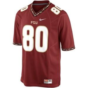 Rashad Greene FSU #80 Youth - Garnet Red Football Jersey
