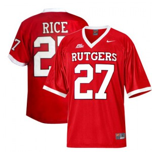 Ray Rice Rutgers Scarlet Knights #27 Youth - Red Football Jersey