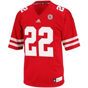 Rex Burkhead Nebraska Cornhuskers #22 - Red Football Jersey