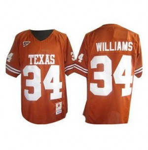 Ricky Williams Texas Longhorns #34 Youth - Orange Football Jersey