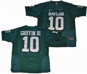 Robert Griffin III Baylor Bears #10 - Green Football Jersey