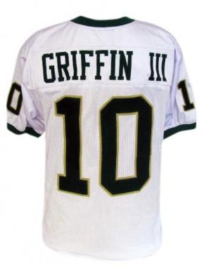 Robert Griffin III Baylor Bears #10 - White Football Jersey