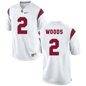 Robert Woods USC Trojans #2 Youth - White Football Jersey