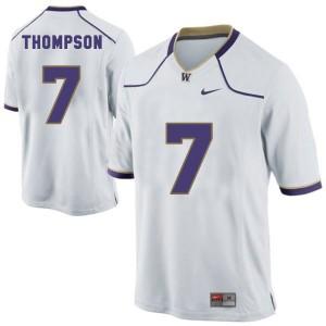 Shaq Thompson Washington Huskies #7 - White Football Jersey