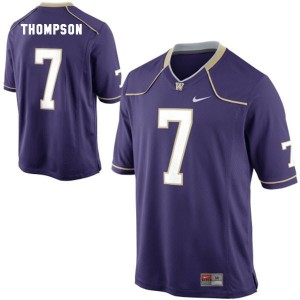 Shaq Thompson Washington Huskies #7 Youth - Purple Football Jersey