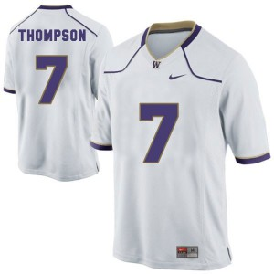 Shaq Thompson Washington Huskies #7 Youth - White Football Jersey