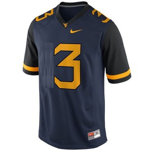 Stedman Bailey West Virginia Mountaineers #3 Youth - Blue Football Jersey