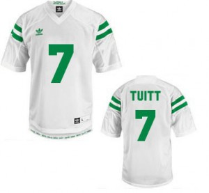 Stephon Tuitt Notre Dame Fighting Irish #7 Youth - White Football Jersey