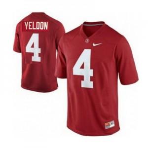 T.J. Yeldon Alabama Crimson Tide #4 - Crimson Red Football Jersey