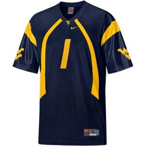 Tavon Austin West Virginia Mountaineers #1 - Blue Football Jersey