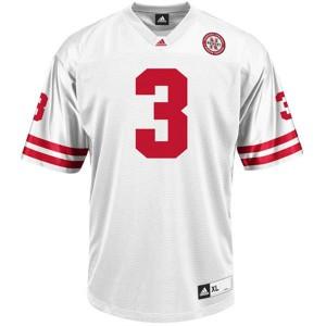 Taylor Martinez Nebraska Cornhuskers #3 Youth - White Football Jersey
