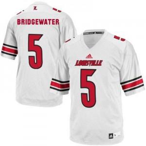 Teddy Bridgewater Louisville Cardinals #5 - White Football Jersey