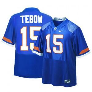 Tim Tebow Florida Gators #15 - Blue Football Jersey