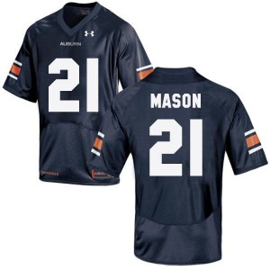 Tre Mason Auburn Tigers #21 - Navy Blue Football Jersey