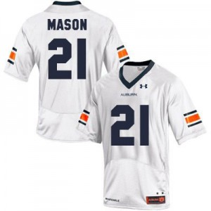 Tre Mason Auburn Tigers #21 - White Football Jersey