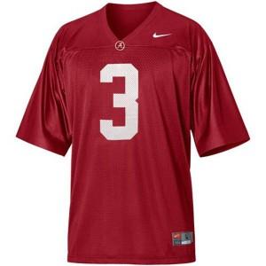 Trent Richardson Alabama Crimson Tide #3 - Crimson Red Football Jersey