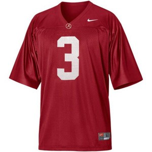 Trent Richardson Alabama Crimson Tide #3 Youth - Crimson Red Football Jersey