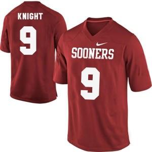 Trevor Knight Oklahoma Sooners #9 - Red Football Jersey