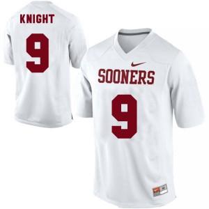 Trevor Knight Oklahoma Sooners #9 - White Football Jersey