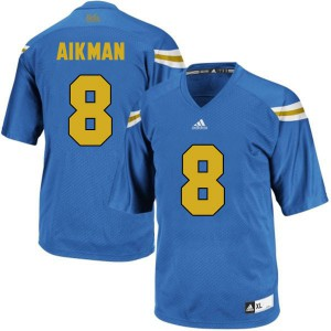 Troy Aikman UCLA Bruins #8 Youth - Blue Football Jersey