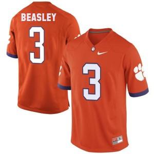 Vic Beasley Clemson #3 - Orange Football Jersey