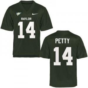 Bryce Petty Baylor Bears #14 - Green Football Jersey